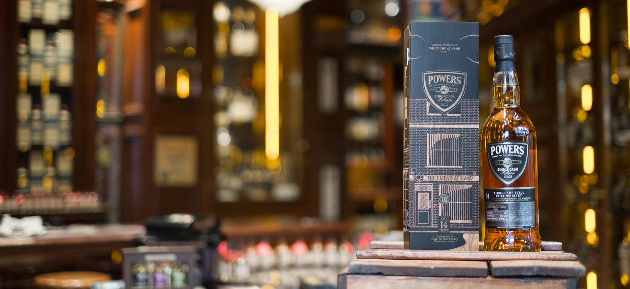 The Friend at Hand Launches a Rare, Single Cask, Powers Irish Whiskey