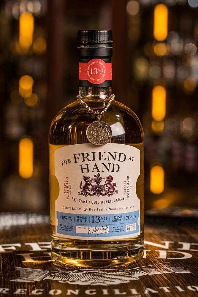 Friend At Hand Belfast protanto quid retribuamus Whiskey