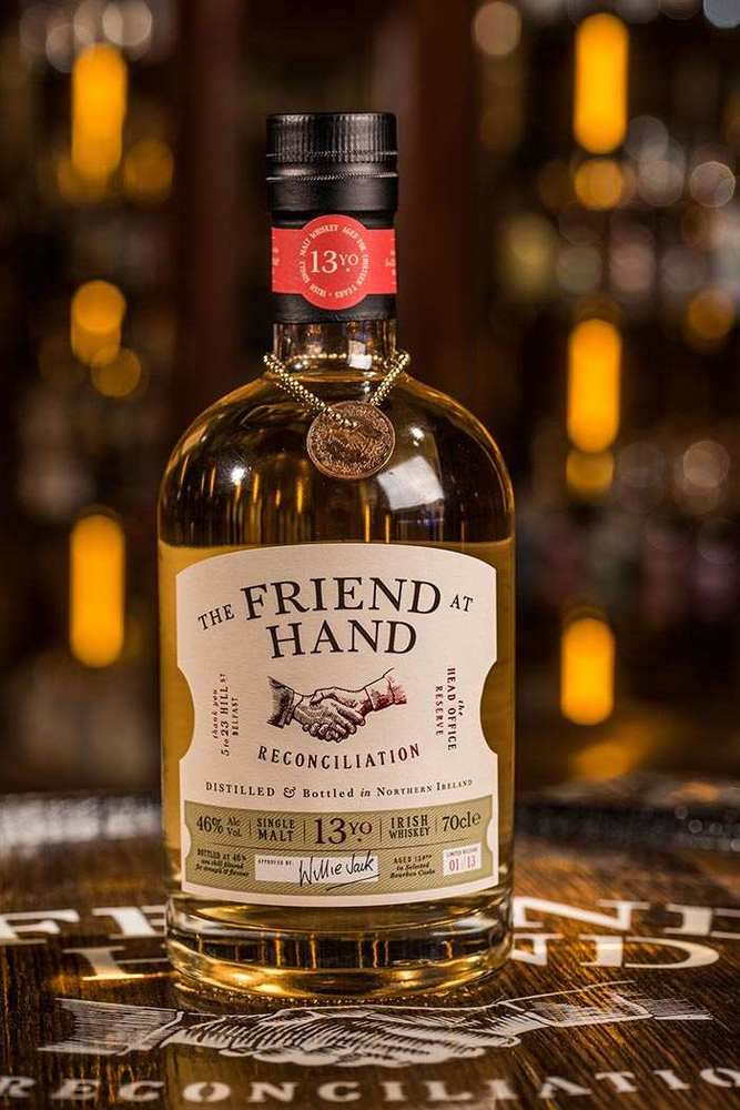 Friend At Hand Belfast reconciliation Whiskey