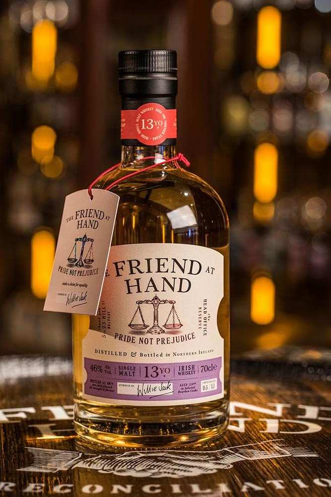 Friend At Hand Belfast pride not prejudice Whiskey