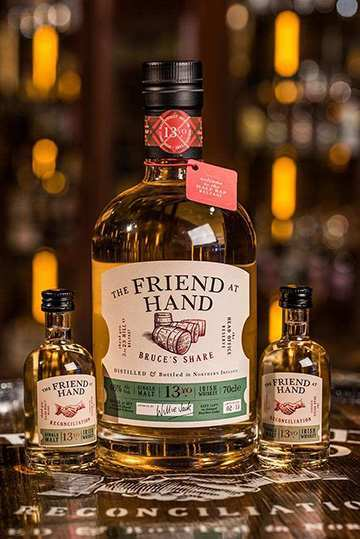 Friend at hand belfast whiskey shop