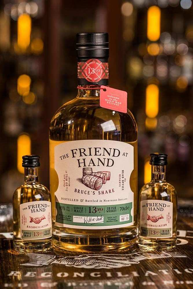 Friend At Hand Belfast Bruces Share Whiskey