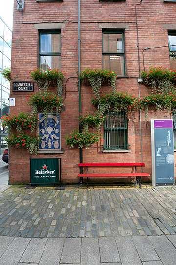 Outside The Duke of York Belfast