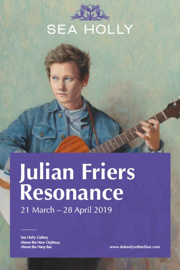 Resonance by Julian Friers sea holly gallery belfast